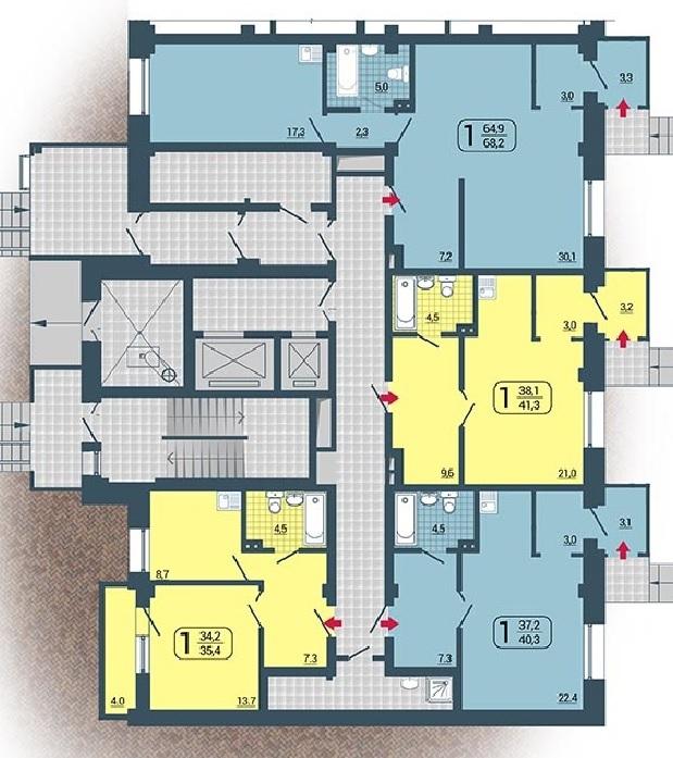 Продажа квартир, нежилых помещений в новостройках Красноярска т.8(391) 285-60-34, 285-06-37