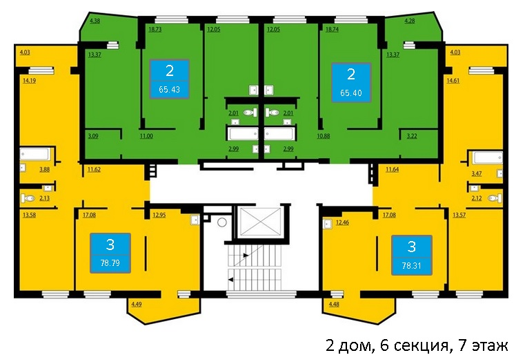 Продажа квартир, нежилых помещений в новостройках Красноярска т. 8(391) 242-42-19, 285-06-37