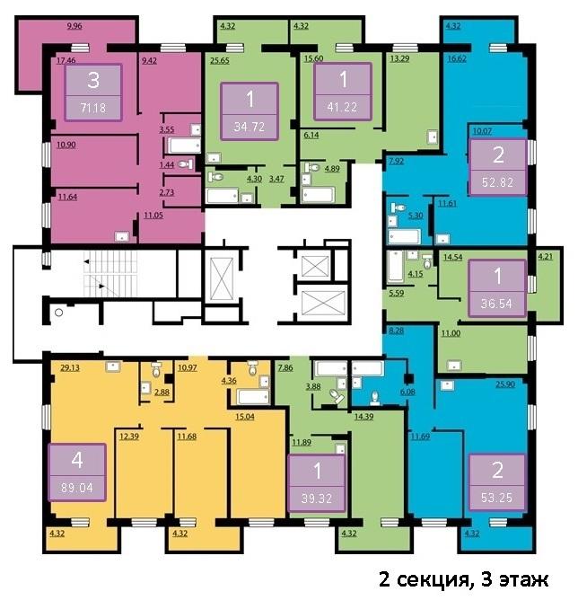 Квартиры, нежилые помещения в новостройках г.Красноярска 8(391) 242-42-19