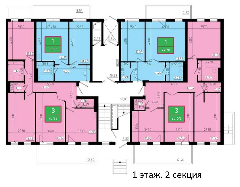 Продажа квартир, нежилых помещений в новостройках Красноярска т. 8(391) 242-42-19, +7902-925-0207 www.новая-стройка.рф