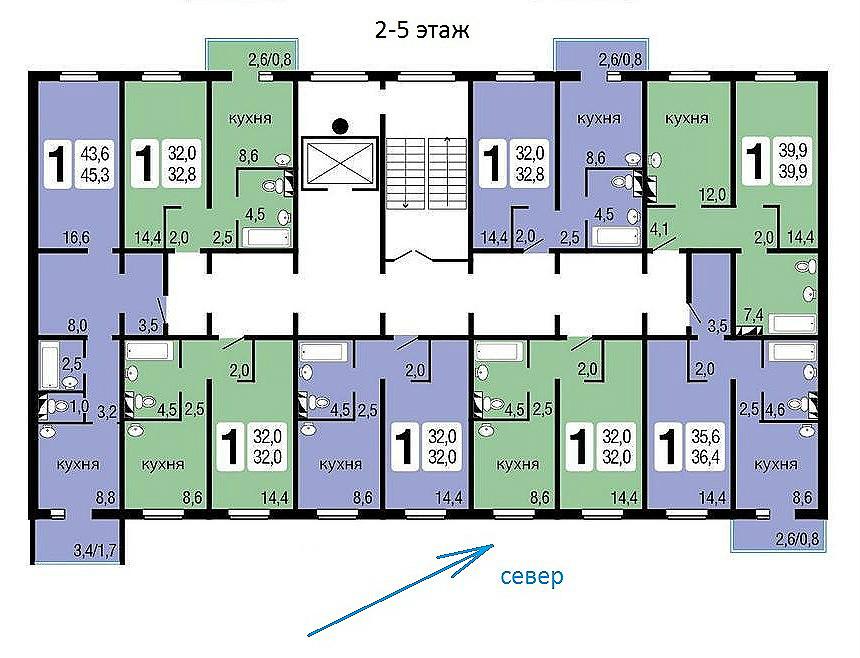 Квартиры, нежилые помещения в новостройках; в Красноярске от застройщика т. 8(391) 242-42-19