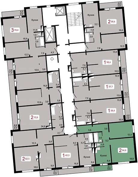 Продажа квартир, нежилых помещений в новостройках Красноярска т.8(391) 285-60-34